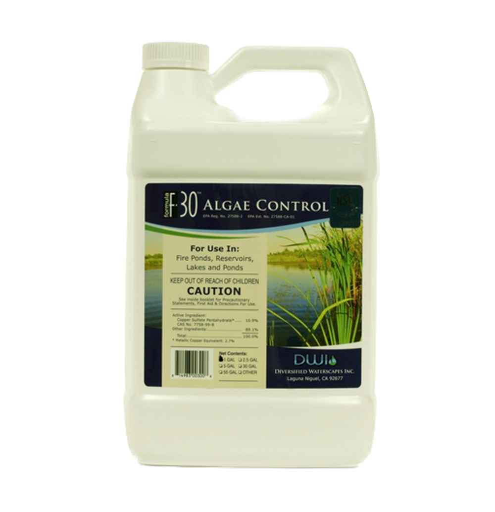 Algae control f 30 complete ponds for Koi pond algae control