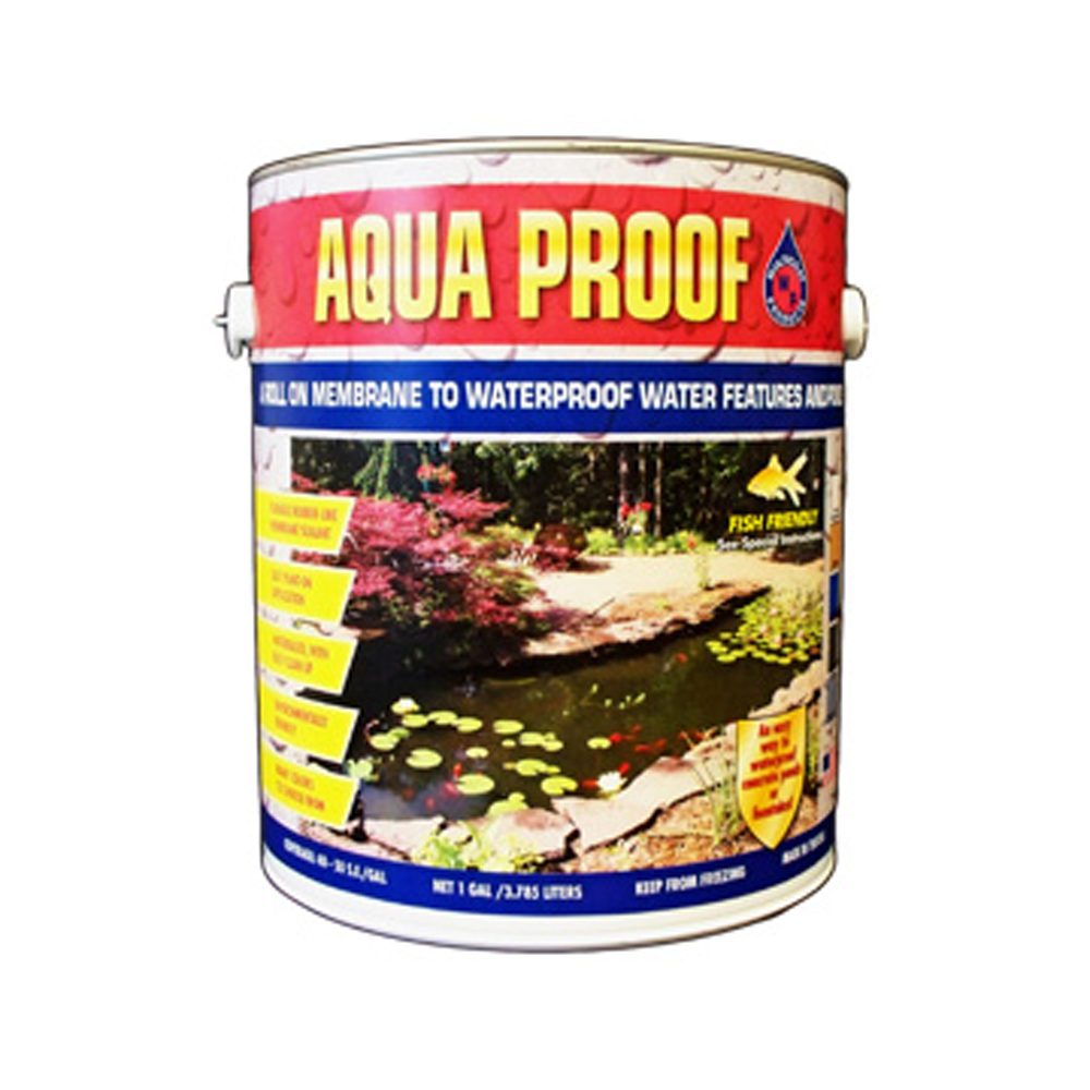 Aqua proof pond sealant complete ponds for Fish safe paint