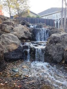 Pond stores sacramento